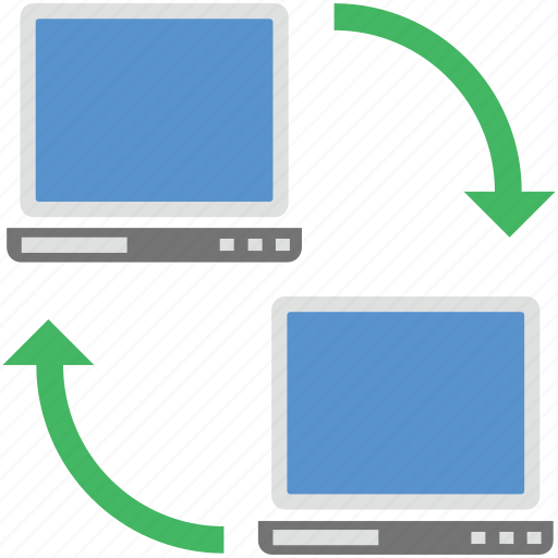 connection, laptop share, network, pc share, share icon