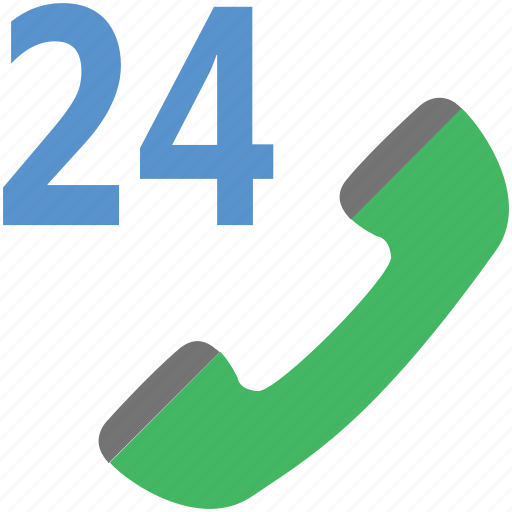 call center, customer service, full service, helpline, twenty four hours icon