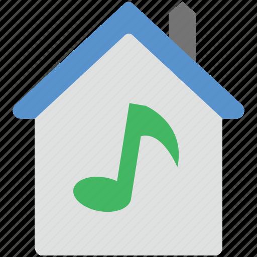 multimedia, music design, music wave, quaver music, sound pitch icon