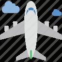 aeroplane, aircraft, airplane, fly, plane
