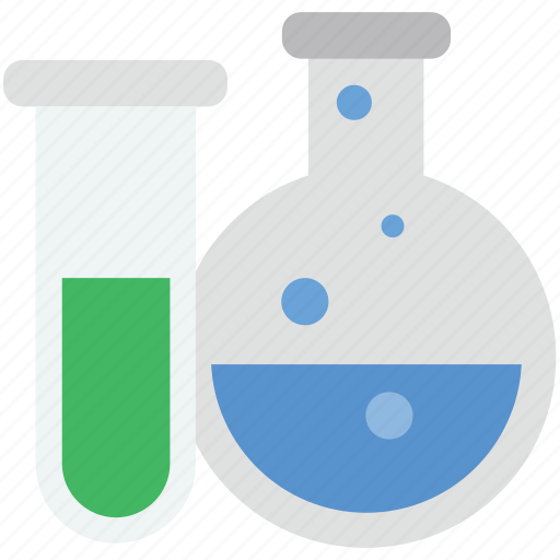 conical flask, erlenmeyer flask, lab equipments, lab flask, lab glassware icon