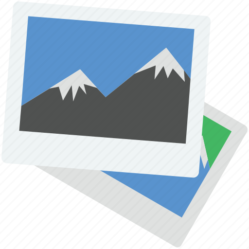 image, landscape, photo, picture, scenery icon