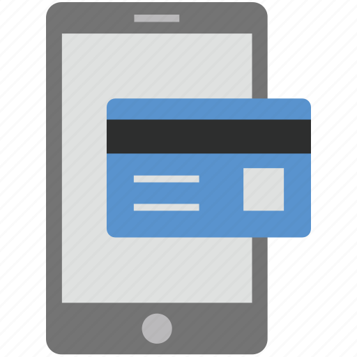 credit card, mobile card, mobile shopping, online banking, smart cards icon