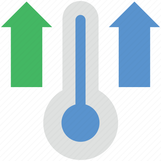 forecast book, high temperature, temperature, temperature tool, thermometer icon