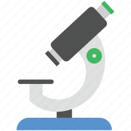 magnifying, medical equipment, microscope, research, science icon