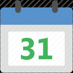 calendar, calendar date, event, schedule, time icon