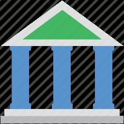 apex court, bank, building, court, court building icon