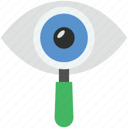 eye, human eye, onlooker, view, watcher icon