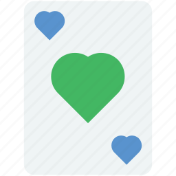 card game, card suit, casino, gambling, playing card icon