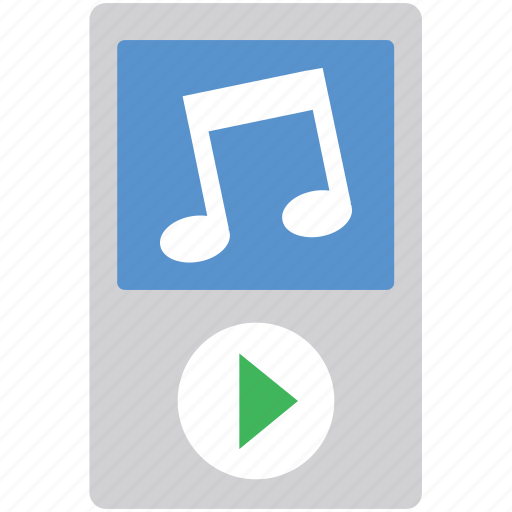 ios device, ipod, mp4 player, music player, walkman icon
