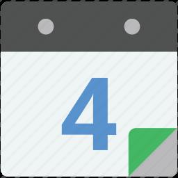 calendar, daybook, schedule, timeframe, wall calendar icon