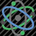 atom, chemistry, electron, energy, molecular, nuclear icon
