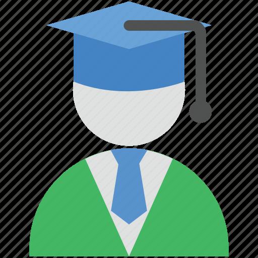 graduate, learner, pupil, scholar, student icon