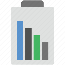 battery charging, battery level, battery status, mobile battery icon