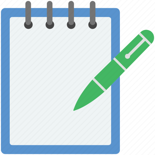 daily tak, jotter, pencil, pencil with diary, to do list icon