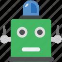 bionic robot, robot, robot face, robot light, robotic machine icon