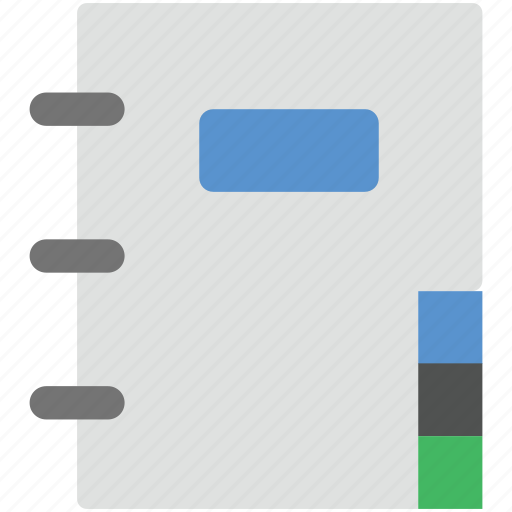 diary, jotter, journal, note, notebook icon