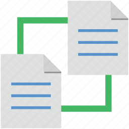 file hierarchy, file share, shared docs, shared documents, shared files icon