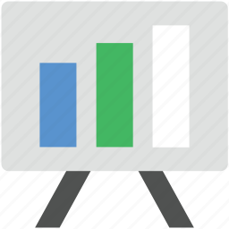 analysis, chart, graph, statistics board, stats icon
