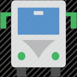 autobus, coach, school bus, school van, transportation icon