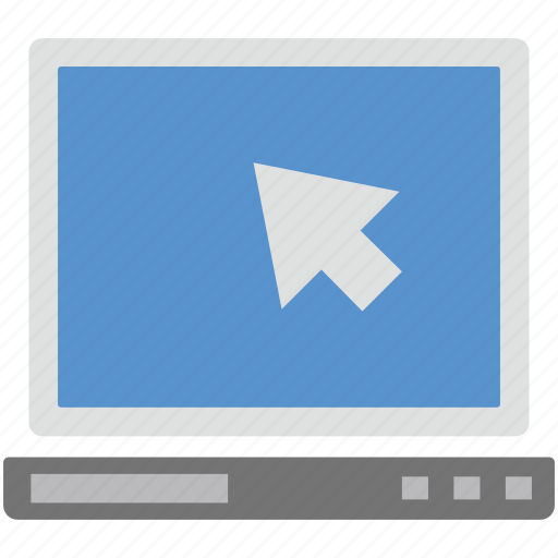 arrow, click, cursor, pointer icon