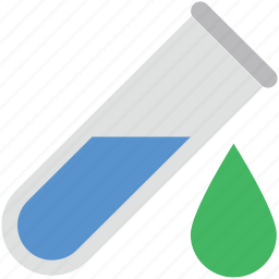conical flask, erlenmeyer flask, lab equipments, lab glassware, sample tube icon