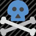 bone, danger, dangerous, deadly, skull