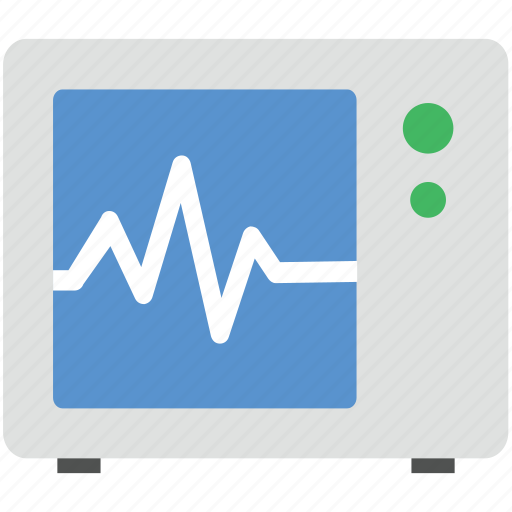 ecg, heartbeat, heartbeat screen, lifeline, pulsation icon
