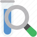 culture tube, experiment, sample tube, search sample, zoom icon