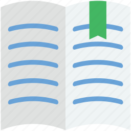 book, encyclopedia, guide, literature, textbook icon