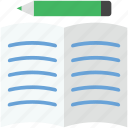 editing sheet, extension file, file editing, sheet, writing sheet icon