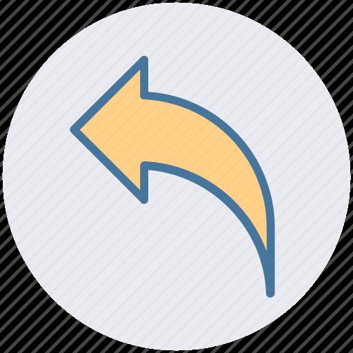 Arrow, back, direction, left, left arrow icon - Download on Iconfinder
