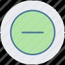 create, interface, minus, minus sign, new, remove