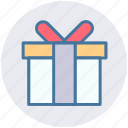 box, gift, gift box, ribbon, surprise, surprise gift icon