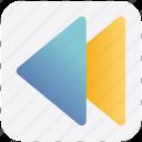fast, multimedia, music, skip, sound icon
