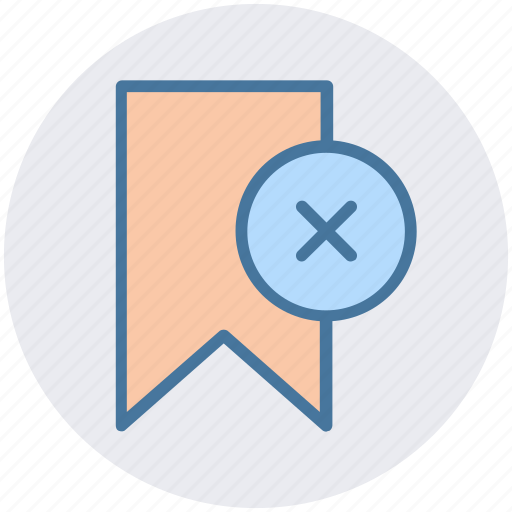 Aids, book, bookmark, delete, reject, ribbon icon - Download on Iconfinder