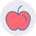 apple, diet, food, fruit, strong food icon