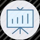 bar, board, chart, diagram, graph board, pie chart, statistics