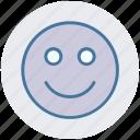 emoji, emotion, face, happy, happy face, smile, smiley face icon