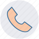 communication, phone, phone receiver, receiver, telephone icon