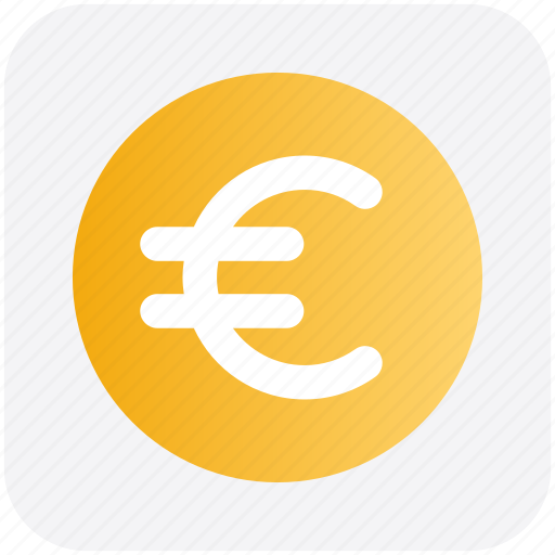 Coin, currency, euro, euro coin, money icon - Download on Iconfinder