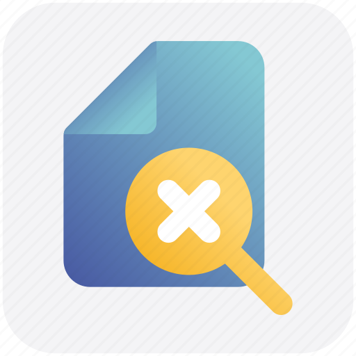 Cross, doc, file, page, paper, sheet icon - Download on Iconfinder