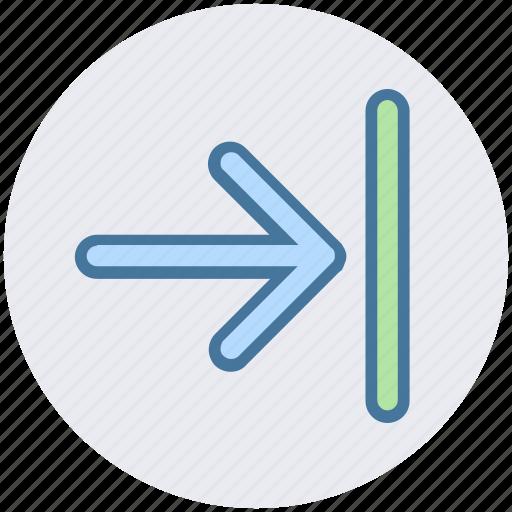 arrow, forward, right, right arrow icon