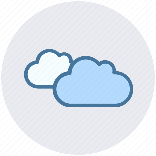 clouds, cloudy, heavy, overcast, rain cloud, weather icon