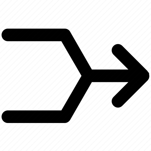 arrow, arrows, direction, multimedia icon