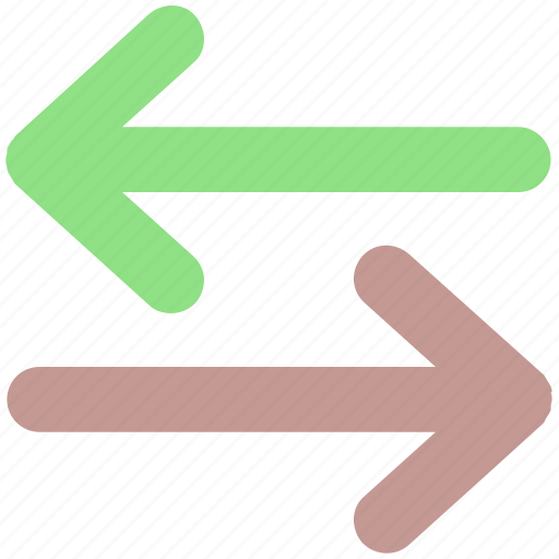 Arrows, change arrows, exchange, left and right icon - Download on Iconfinder