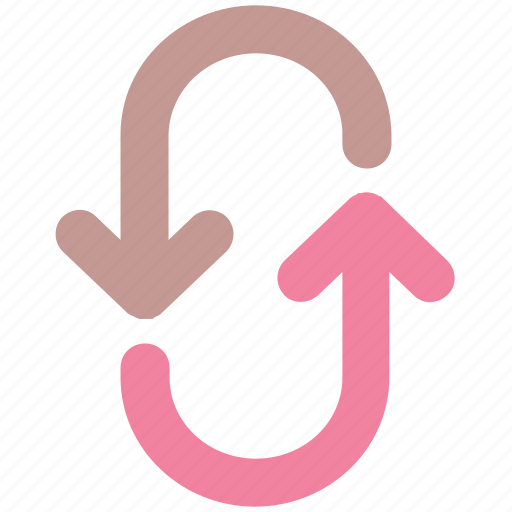 arrow, arrows, direction, down, right, up icon