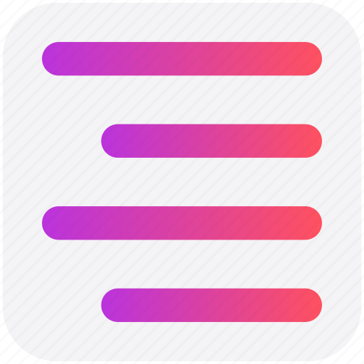 Align, alignment, center, center align, right icon - Download on Iconfinder