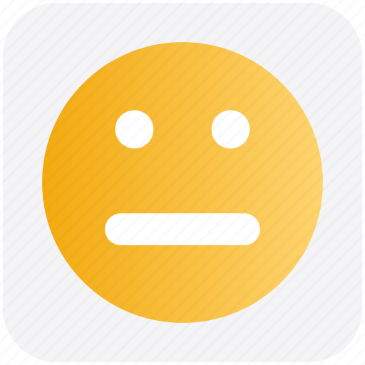 Emoji, face, femotion, neutral, smiley face icon - Download on Iconfinder