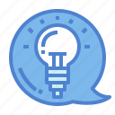electronics, idea, invention, lightbulb icon